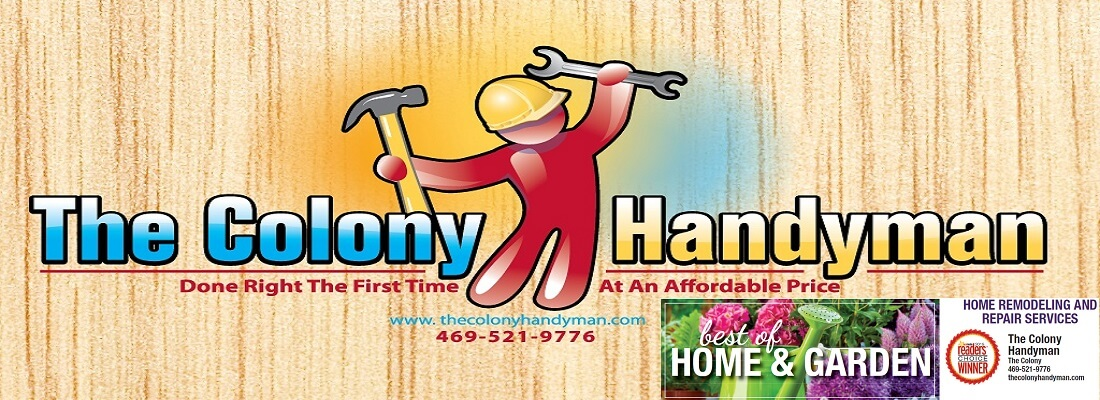The Colony Handyman - Home Improvements and Repairs Logo